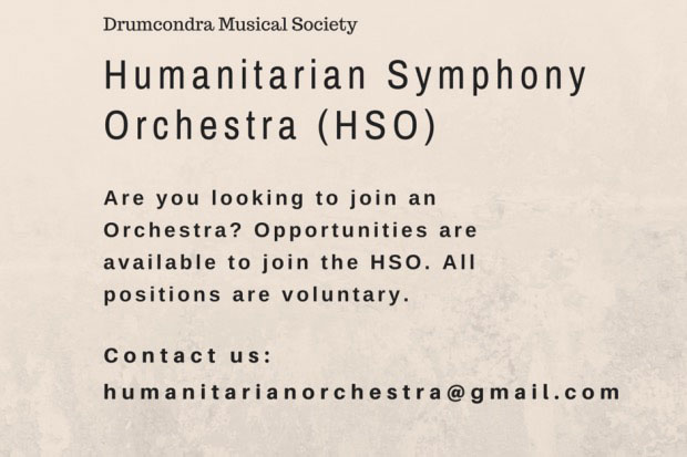 join the humanitarian orchestra